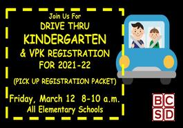 Drive Thru Registration!!