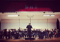 BHS Band Students Dominate N FL Honor Band